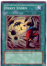 YuGiOh Card - Heavy Storm MRD-142 Super Rare (NM)