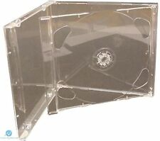 1 SINGOLO CD JEWEL CASE 10.4 mm con chiare fold-out VASSOIO Vuota RICAMBIO HQ AAA
