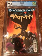 BATMAN #1 (2016) CGC 9.8 Sale Variant Cover  1st Print DC REBIRTH