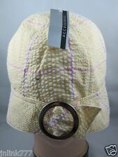 B55:New $7.99 aCCeSSories Bucket Hat for Women from USA-Yellow