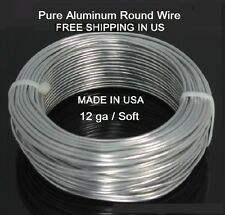 BONSAI WIRE 2 MM   25 ft Pure Aluminum Wire (DEAD SOFT)