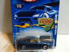 2002 Hot Wheels #213 Blue Ferrari 456M w/5 Spoke Wheels