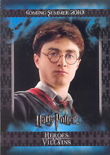 HARRY POTTER HEROES AND VILLAINS 2010 ARTBOX PROMO CARD P1