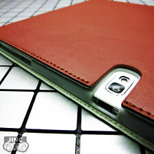 Genuine Cow Leather Book Case Cover for Samsung SM-P6000 Galaxy Note 10.1 2014