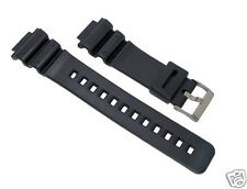 16mm Black Replacement Resin/PVC Watch Band for G-Shock DW6900, GW6900, DW6600