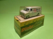 DINKY TOYS 410 BEDFORD VAN - HIRE + SERVICE - RARE SELTEN - EXCELLENT IN BOX