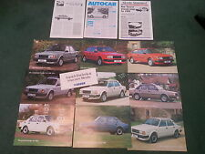 1988 SKODA Estelle 105 120 130 SALOON + RAPID COUPE - UK 13 PART BROCHURE PACK
