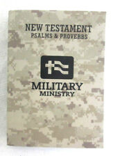 Holy Bible Military Ministriey New Testament Camo Cover Good New Translation