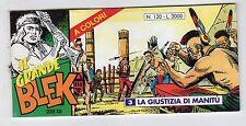 fumetto striscia - IL GRANDE BLEK serie inedita numero 120