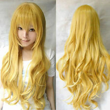 80cm Women Europe America Style Long Wavy Wig Anime Cosplay Party Full Wig, JF7