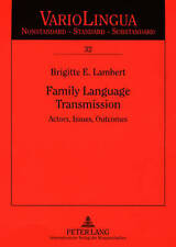 Family Language Transmission Lambert  Brigitte E. 9783631573761