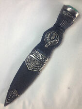 DUMMY ANTIQUE GENTS THISTLE CREST SGIAN DUBH WITH DIFFERENT STONES - SD0017