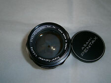 Super - Takumar 50mm F 1.4.... yellow UV treated.....in Pentax M42 Screw Mount..