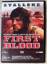 First Blood (Sylvester Stallone) DVD in EXCELLENT condition (Region 2/4 PAL)