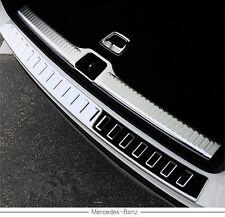 2PCS rear door plate bumper cover sill bar fit Mercedes Benz GLC X253 2016-2017