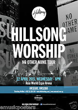 "HILLSONG WORSHIP ""NO OTHER NAME TOUR"" 2015 HONG KONG CONCERT POSTER-Praise Music"