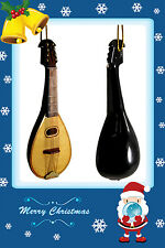 """**GREAT GIFT**Miniature Mandolin Christmas Ornament 4.75"""" HOLIDAY SPECIAL"""