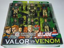 G.I.JOE 2004 ANTI-VENOM TASK FORCE 6-PACK MOC NEU & OVP GI JOE DUKE BARRICADE