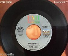"KATE BUSH -Experiment IV- Rare USA Promo 7"" With Picture Sleeve (Vinyl Record)"