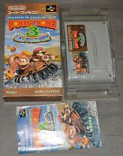 DONKEY KONG COUNTRY 3 - SUPER FAMICOM NES IMPORT JAPAN
