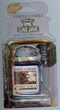 "SALE!  2-YANKEE CANDLE Car Jar Ultimate ""Lavender Vanilla"" Air Fresheners!"