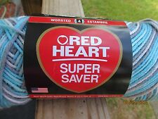 Red Heart Super Saver Variegated ICELANDIC 5 oz 100% Acrylic Worsted #4 SDL