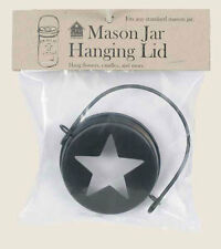 Hanging Mason Jar Star Lid Top by CTW Home Collections - Candle & Flower Display