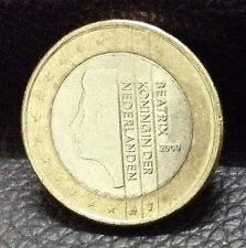 1 EURO Coin 2000 Holland Beatrix Queen of The Netherlands