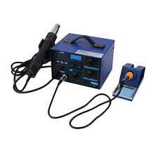 SMD 2in1 862D+ Soldering Iron Welder Hot Air Gun Rework Station + Accessories LE