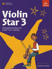 Violin Star 3 Student's Book Sheet Music Book/CD ABRSM Pupil Beginner's