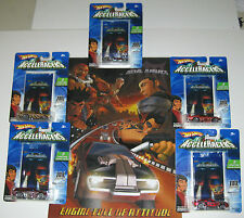 Hot Wheels ACCELERACERS Metal Maniac 5-Pack+Jaw Jammer & Bonus CD ALL for $54.95
