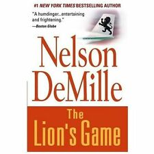 The Lion's Game, Nelson DeMille, 0446679097, Book, Good