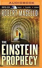 The Einstein Prophecy by Robert Masello (2015, MP3 CD, Unabridged)