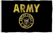 ANLEY US Army Crest Flag United States Military Banner Polyester 3x5 Foot Flags