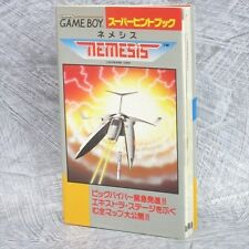 NEMESIS Super Hint Book Guide Cheat Game Boy TK4