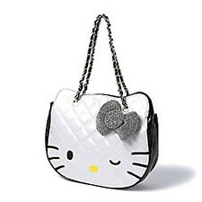 HELLO KITTY Sparkle & Shine QUILTED Tote HAND BAG Purse HANDBAG Shoulder SANRIO