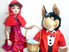 "Little Red Riding Hood Ellowyne Wilde + Singing 20"" Big Bad Wolf 16"" Tonner Doll"