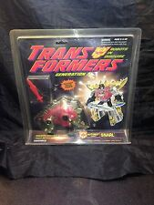 Snarl Transformers Generation 2 1992 MIB NIB Sealed New Autobot Die Cast Metal