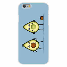Avocado Baby Fruit & Seed Couple Humor Fits iPhone 6+ Plastic Snap On Case