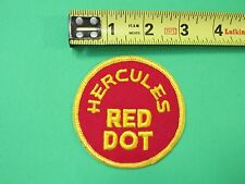 Hercules Red Dot Patch