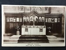 RP Vintage Postcard - Lancashire #A30 - Whalley Church, East End Of Chancel