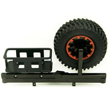 Rear Bumper Mount With Spare Tire Rack Carrier Set for 1/10 RC D90