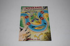 +++ RIVER RAID Atari 5200 INSTRUCTION MANUAL ONLY