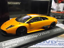 LAMBORGHINI Murcielago LP640 LP 640 SV orange me Supersportwagen Minichamps 1:43
