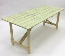 6' long, 2'6'' wide Rustic Table, Shabby Chic Table, Distressed Table
