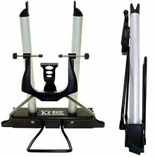 "M-Wave motorcycle wheel truing balancing stand for 12""""-29"""" wheels - black"