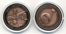 NASA Space Program Commemorative Mars Curiosity Rover Medallion Coin Token