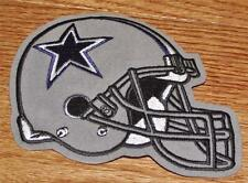 "Dallas Cowboys Helmet Patch 4.5"" x 4.5"" Embroidered NEW Iron-On High Quality"