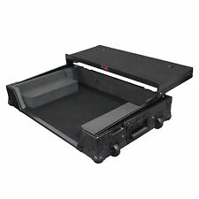 ProX XS-DDJSX-WLTBL All Black Pioneer DDJ-SX Hard Case W/ Sliding Laptop Shelf
