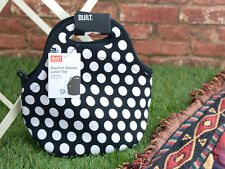 Built Ny Gourmet escapada Black & white spots Neopreno Lunch Tote Bag